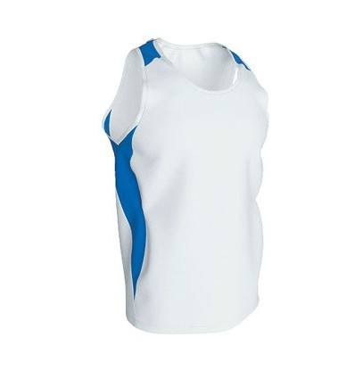 CAMISETA SPEED BLANCA/AZUL