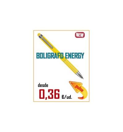 BOLIGRAFO ENERGY LIGHT ALUMINIO MIX PUNTERO