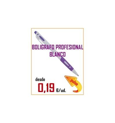 BOLIGRAFO PROFESIONAL BLANCO