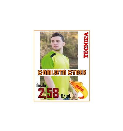 CAMISETA CYBER ADULTO