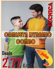 OFERTA CAMISETA DYNAMIC COMBO
