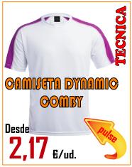 OFERTA CAMISETA DYNAMIC COMBY